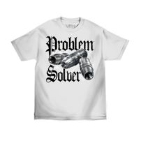 Mafioso Clothing Problem Solver Tee White
