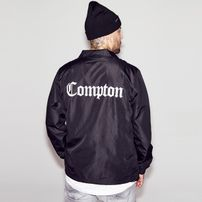 Mr. Tee Compton Coach Jacket black
