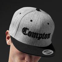 Mr. Tee Compton Snapback h.grey/blk