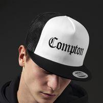 Mr. Tee Compton Trucker Cap blk/wht/blk