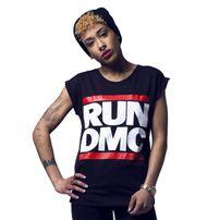 Mr. Tee Ladies Run DMC Logo Tee