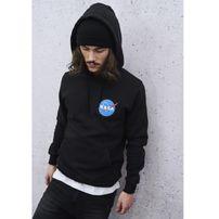 Mr. Tee NASA Small Insignia Hoody black