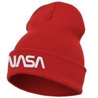 Mr. Tee NASA Worm Logo Beanie red
