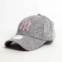 Női Sapka New Era 9Forty Woman Tech Jersey NY Grey Pink