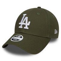 Női Sapka New Era 9Forty Womens Essential LA Dodgers Rifle Green