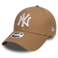 Női Sapka New Era 9Forty Womens Essential NY Yankees Khaki White