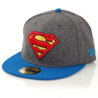 New Era Hero Melton Superman Melton Charcolar