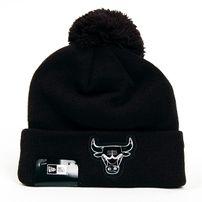 Téli Sapka New Era Logo Shine Bobble Chicago Bulls Winter Cap