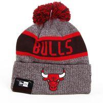 Téli Sapka New Era NBA Marl Knit Chicago Bulls Gray Red