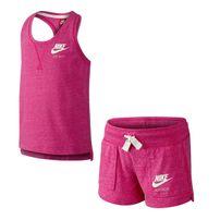 KIDS Nike Gym Vitage Tank And Shorts Set Little Girls 728841-616