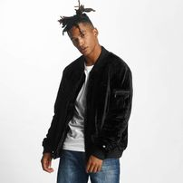 Rocawear / Bomber jacket Retro Velour in black