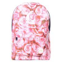 Spiral 21 Roses Backpack Bag Pink