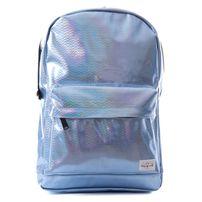 Spiral Blue Glitz Backpack Bag