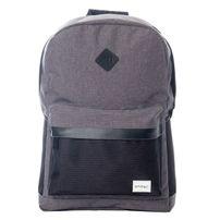 Spiral Charcoal Black Mesh SP Backpack Bag