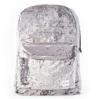 Spiral Crushed Velvet Mist Backpack Bag