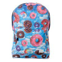 Spiral Donut Sky Backpack Bag