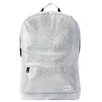 Spiral Glamour Backpack Bag Silver