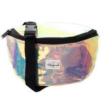 Spiral Holographic Bum Bag