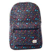 Spiral Navy Spray Backpack Bag