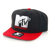 Starter MTV Icon Logo 3 Tone Black Red