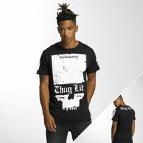 Thug Life Blind T-Shirt Black