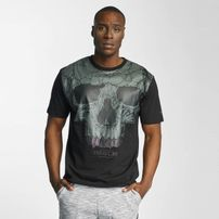 Thug Life Goldteeh T-Shirt Black