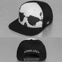 Thug Life Scully Snapbck Cap Black