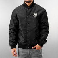 Thug Life Small Skull College Jacket Black