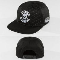 Thug Life / Snapback Cap Whitline in black