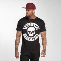 Thug Life / T-Shirt B.Skull in black