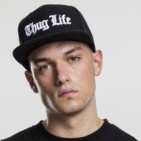 Thug Life Thug Life Old English Snapback black