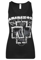 Urban Classics Ladies Rammstein In Ketten Tanktop black
