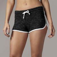 Urban Classics Ladies Space Dye Hotpants blk/wht/wht