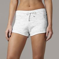 Urban Classics Ladies Space Dye Hotpants wht/blk/wht