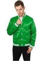 Urban Classics Mens Shiny College Jacket cgr/wht