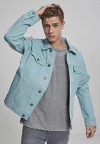 Urban Classics Oversize Garment Dye Jacket bluemint