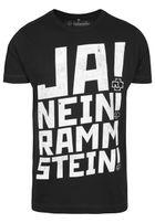 Urban Classics Rammstein Ramm 4 Tee black