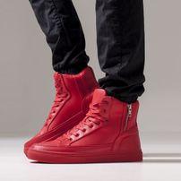 Urban Classics Zipper High Top Shoe Fire Red