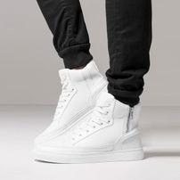 Urban Classics Zipper High Top Shoe White