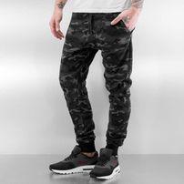 Who Shot Ya? Camo Sweatpants Black/Grey