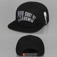 Who Shot Ya? Gangwear Snapback Cap Black