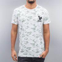 Who Shot Ya? Garlic T-Shirt Camouflage White