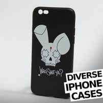 Who Shot Ya? / Mobile phone cover Bunny Logo iPhone in black