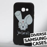 Who Shot Ya? / Mobile phone cover Bunny Logo Samsung in black