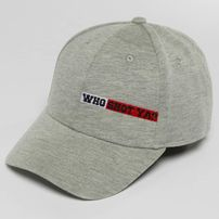 Who Shot Ya? / Snapback Cap Lucid Style in grey