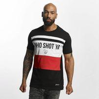 Who Shot Ya? / T-Shirt Font in black