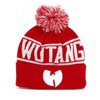 Wu-Tang Logo Winter Cap Red White