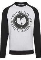 Wu-Wear Wu-Wear Ain't Nothin' Crewneck h.grey/blk