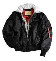 Alpha Industries N3B VF 59 Parka Jacket Black Gangstagroup