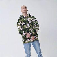 Cayler & Sons Sweatshirt Black Label Brackets Box Hoody woodrose camo / white